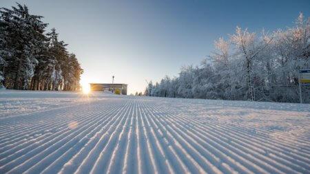 Skipiste in Winterberg frisch präpariert