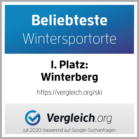 Winterberg als beliebtester Wintersportort