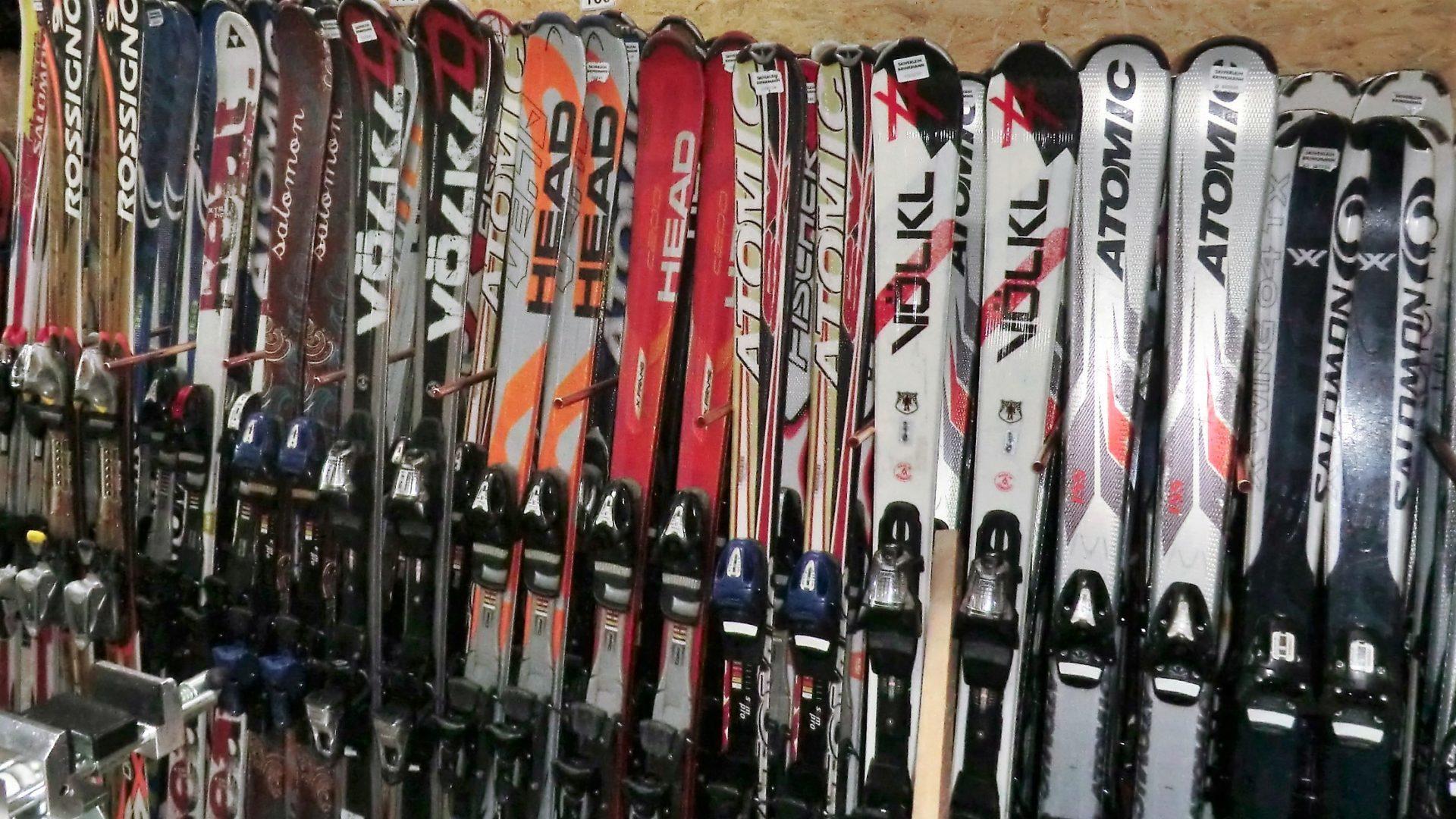 Skimaterial Skiverleih Brinkmann Winterberg